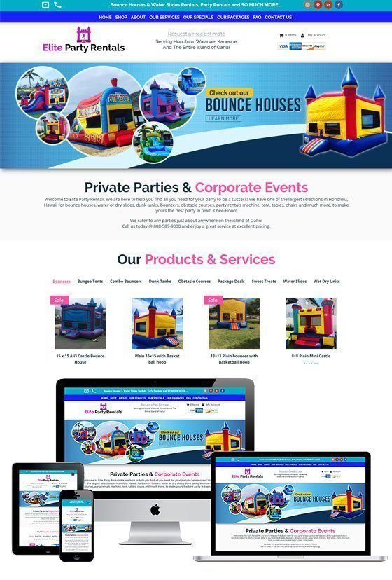 Elite Party Rentals Hawaii