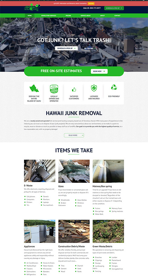 Hawaii Junk Removal